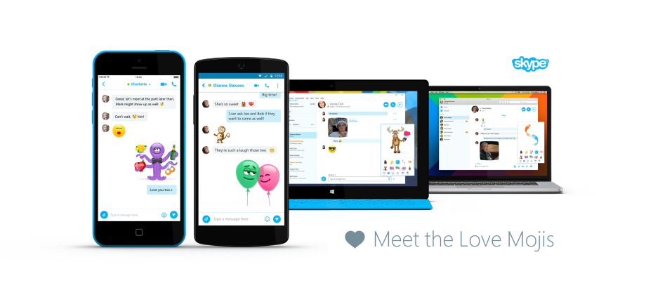 Skype and Paul McCartney designed 10 new Valentine's emojis