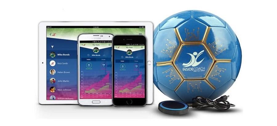 Smart soccer ball works with app to improve game skills