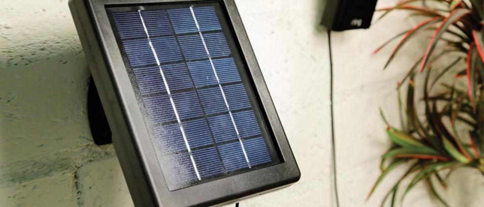 Ring Solar Panel for Stick Up Cam eliminates charging hassle