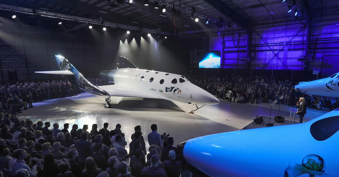 Virgin Galactic officially debuts SpaceShip Two, the VSS Unity