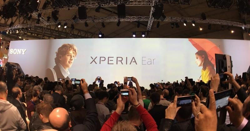 Sony Xperia Ear: the first in new breed of intelligent devices