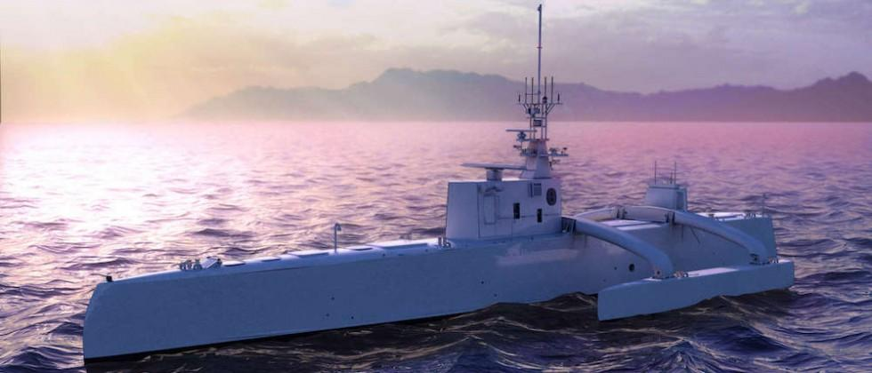 DARPA is launching an autonomous, submarine-hunting robot ship in April