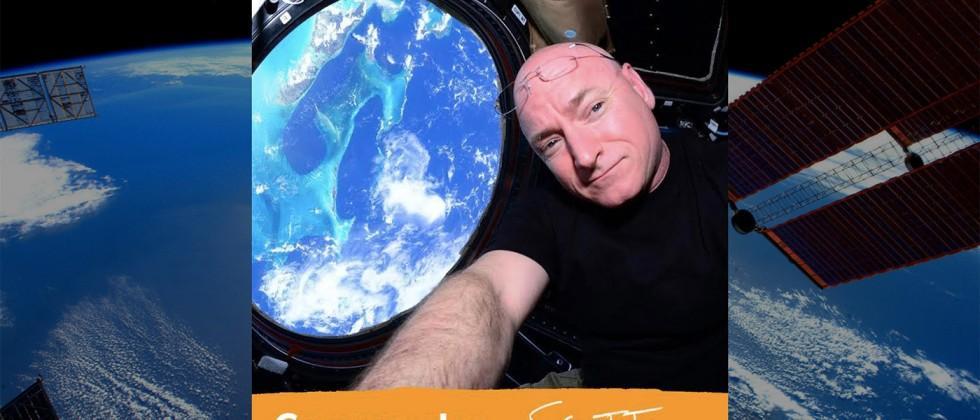 ISS commander, astronaut Scott Kelly answering questions live on Tumblr right now