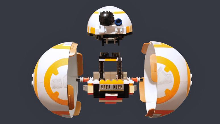 Now there's a working BB-8 model made of Lego