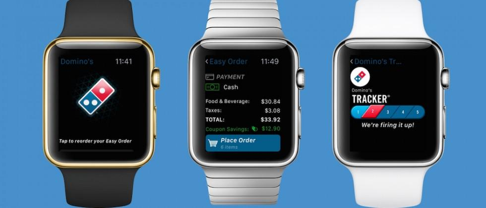 Apple Watch users can now order Domino's pizza from the wrist