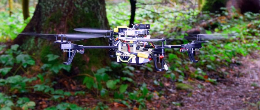 New software enables drones to search forests for lost hikers