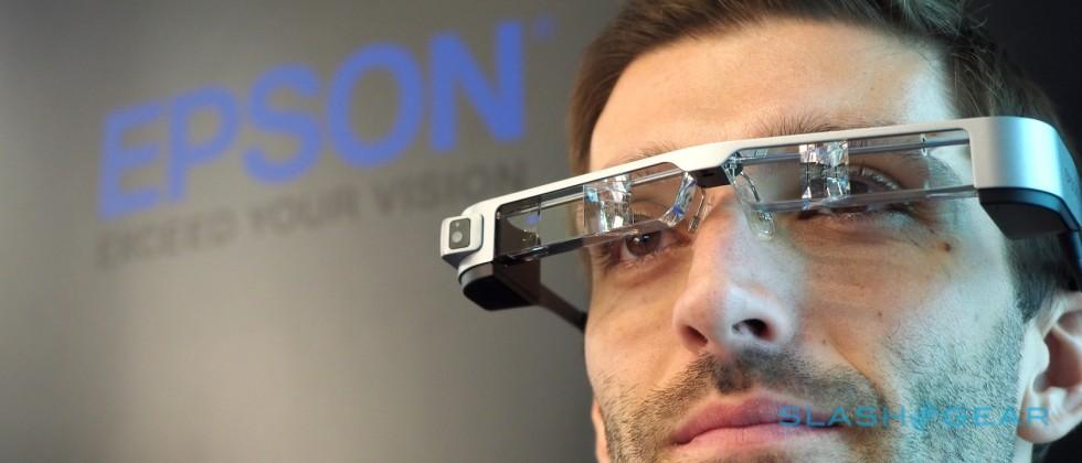 Epson Moverio BT-300 hands-on: OLED switch for AR upgrade
