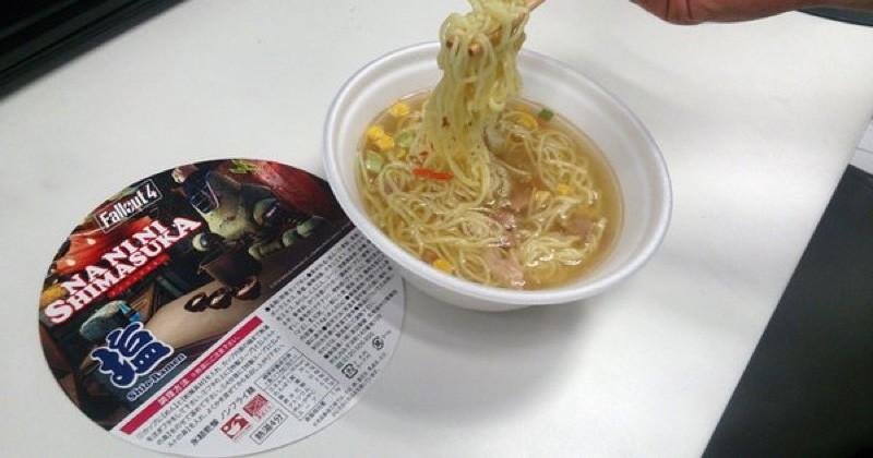Fallout 4 ramen is real, for some reason