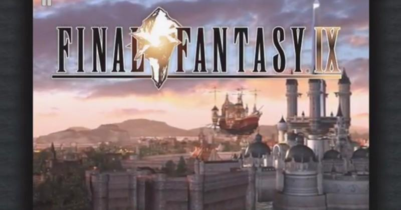 Final Fantasy IX is now available on iOS and Android