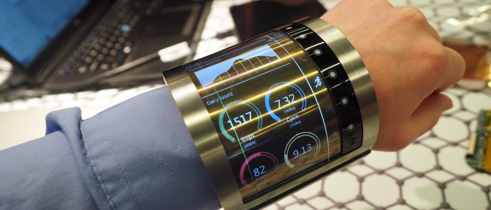 FlexEnable Flexible LCD Gallery