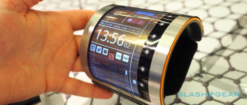FlexEnable's sci-fi wearable previews a flexible display future