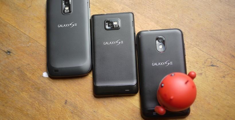 Samsung Galaxy S II gets the Marshmallow treatment
