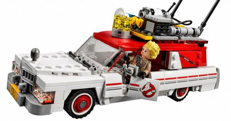 Ghostbusters LEGO kit shows off ECTO-1