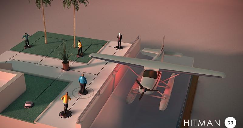 Square Enix to bring diorama-esque Hitman Go to PC, PS4, Vita