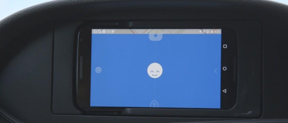Honda navigation concept plugs a phone right into the dashboard