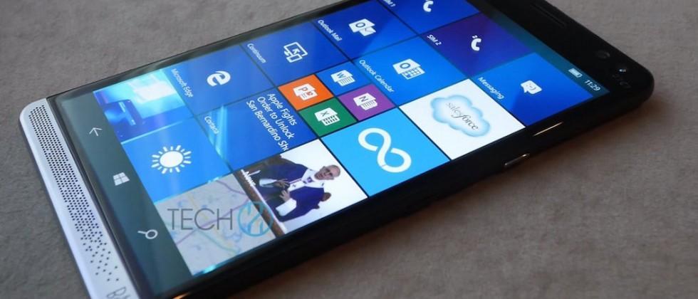 HP Elite X3 leaked, revealing Windows 10 premium phablet