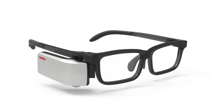 Wearvue is the Toshiba smart glass you never saw
