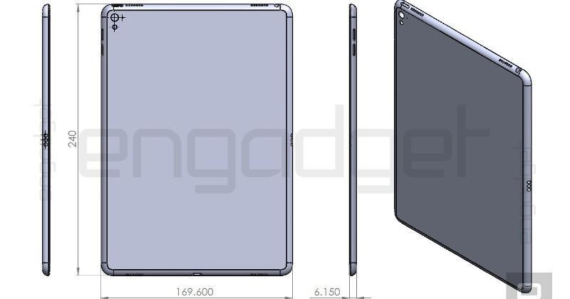 ipad air 3 leaked diagram reinforces mini ipad pro image