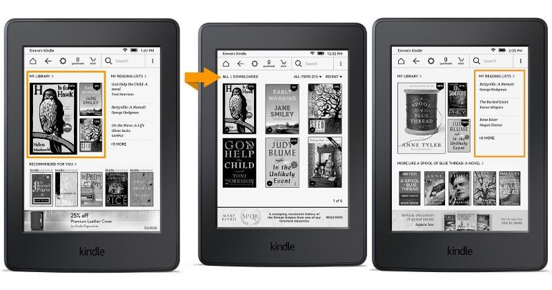 Amazon finally gives the Kindle home screen an upgrade