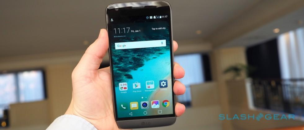 LG G5 hands-on: LG goes metal and modular