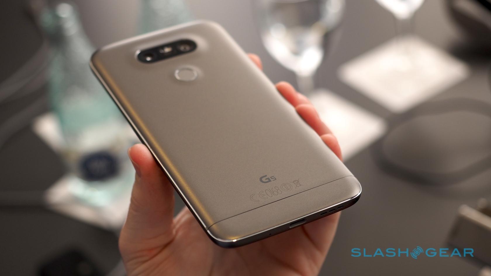 LG G5 hands-on: LG goes metal and modular - SlashGear