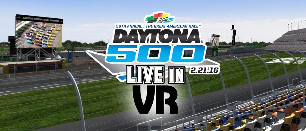 Daytona 500 live broadcast the first in FOX Sports NextVR deal