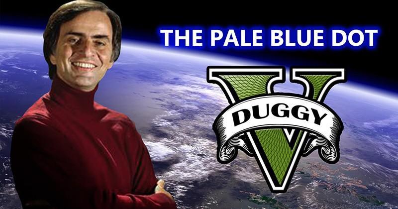 Listen to Carl Sagan's Pale Blue Dot speech in Grand Theft Auto