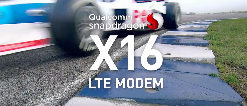 Qualcomm Snapdragon X16 LTE Gigabit chip ready for live streaming VR