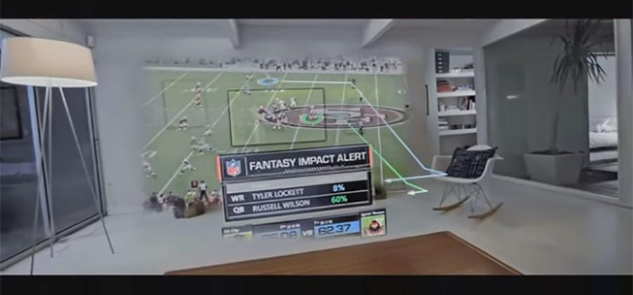 Microsoft HoloLens wants to bring new tech to NFL fans