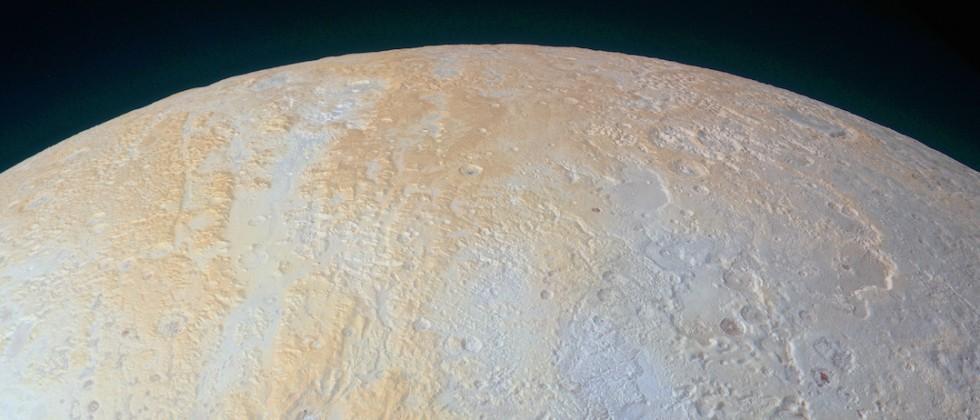 NASA's latest Pluto photo reveals frozen canyons