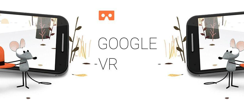 Google VR headset: self-contained, Android likely