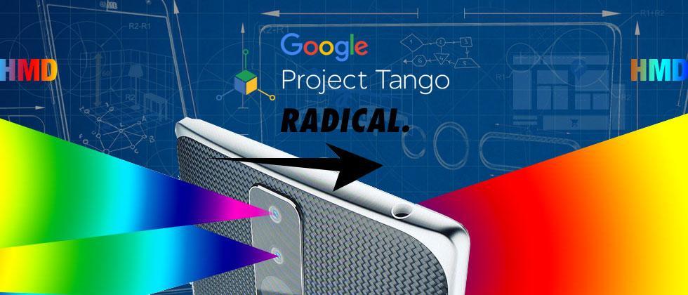 Google Tango HMD: smartphones' next step
