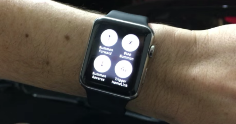 You can now summon your Tesla Model S with your Apple Watch