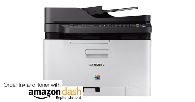 Samsung printers get Amazon Dash Replenishment features