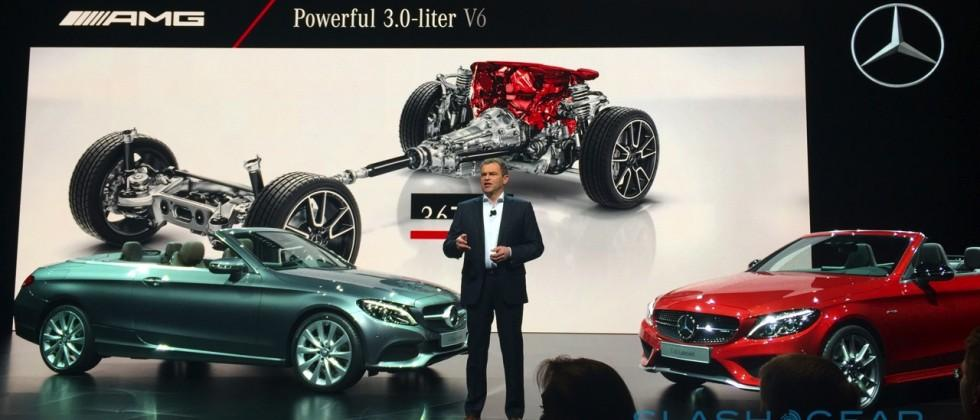 2017 Mercedes-Benz C-Class Cabriolet & Mercedes-AMG C43 Cabriolet First Look in Geneva