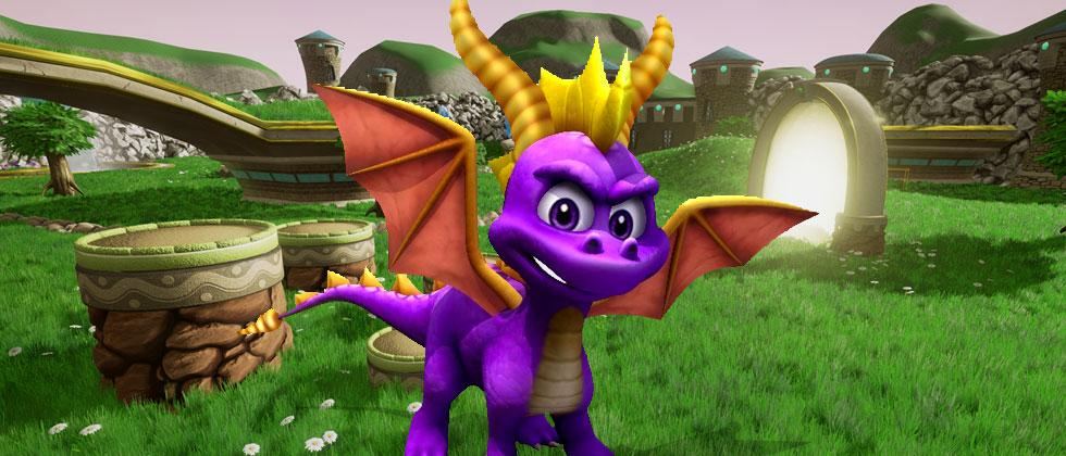 Spyro the Dragon returns in Unreal Engine 4