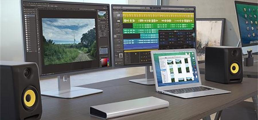 StarTech Thunderbolt 2 docking station supports dual monitors