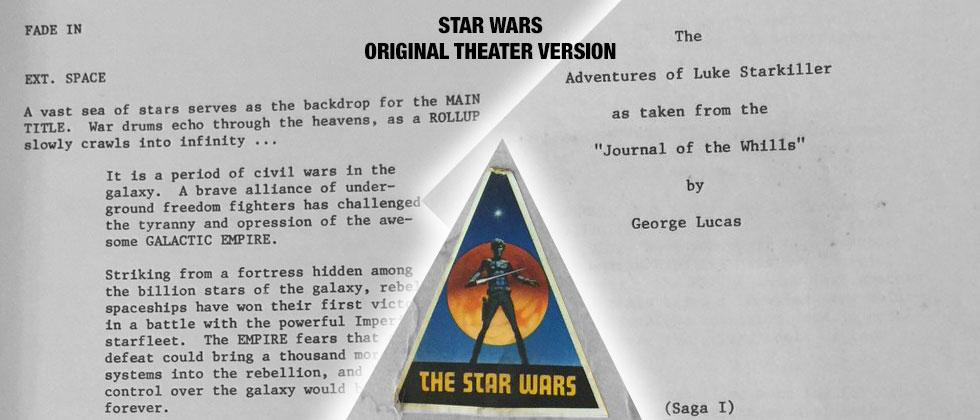 Original Star Wars 1977 theater version released for free