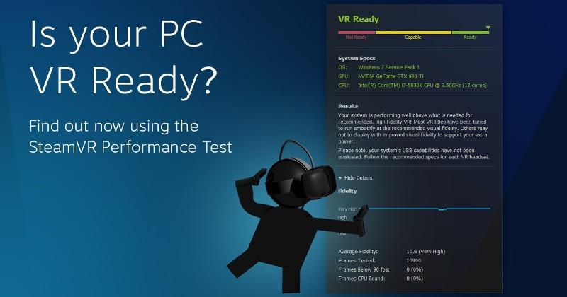 SteamVR Performance app tests if your PC is Vive-ready - SlashGear