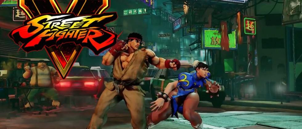 Street Fighter V gets a surprise release on SteamOS and