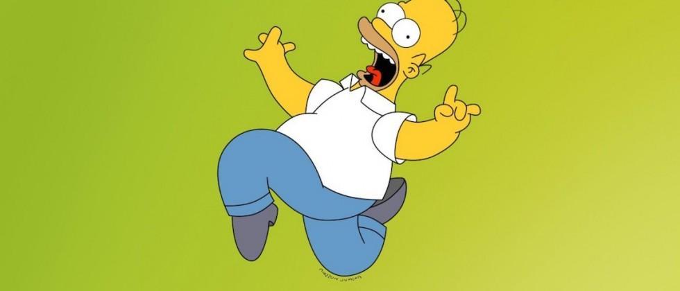 Motion-captured Homer Simpson to give live Q&A on TV