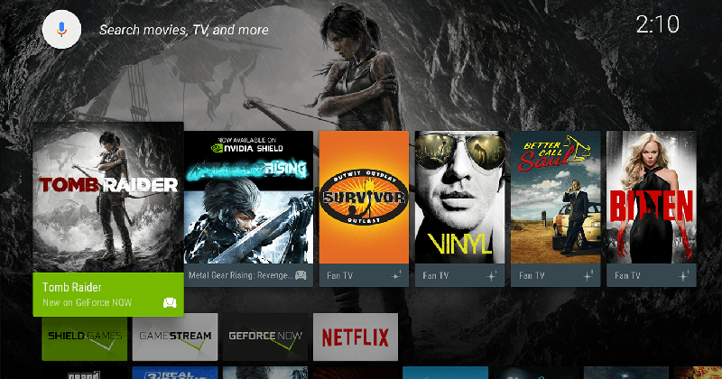 NVIDIA SHIELD Android TV gets Marshmallow, Vulkan update