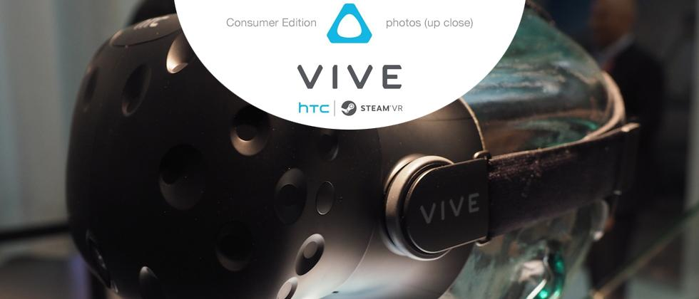 This is the HTC Vive consumer edition