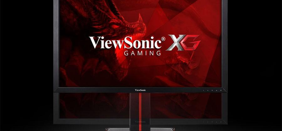 ViewSonic XG gaming monitors pack up to 4K resolution and