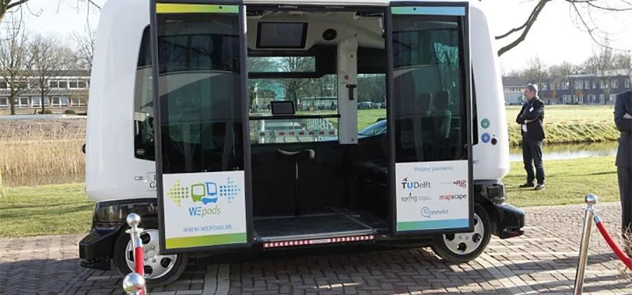 Wepod driverless vehicle testing kicks off in the Netherlands