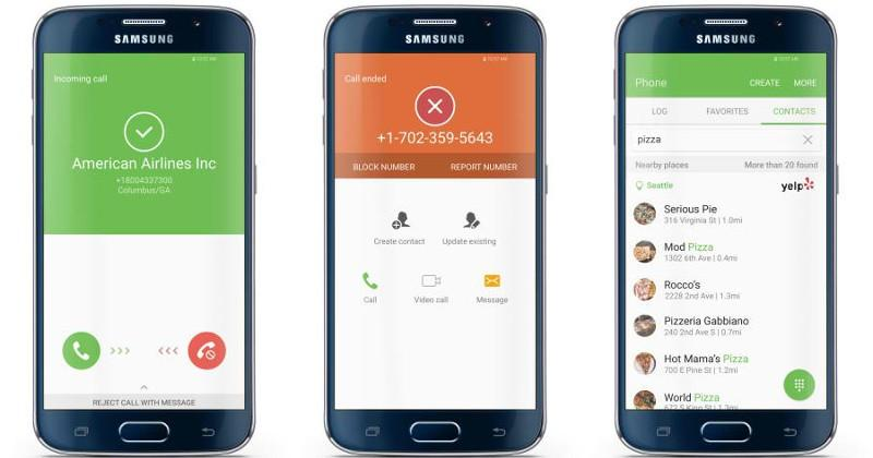 Galaxy S7 enlists Whitepages for Caller, Spam ID