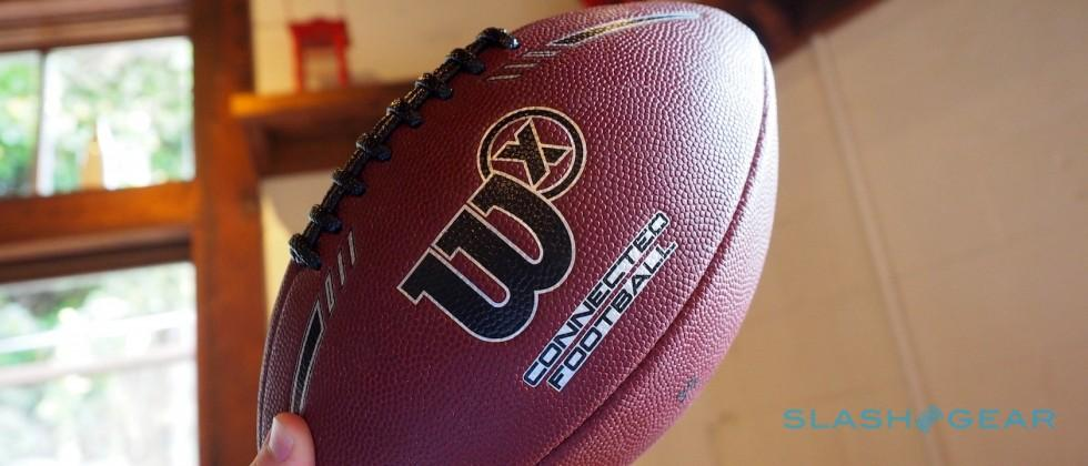 Wilson X Connected Football hands-on: The IoT gets competitive