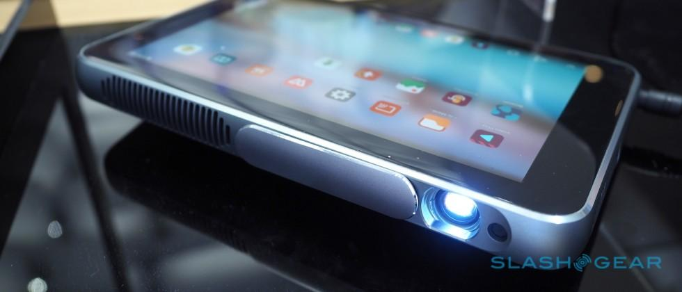 Hands-on with ZTE's Spro Plus, a tablet that's also a projector