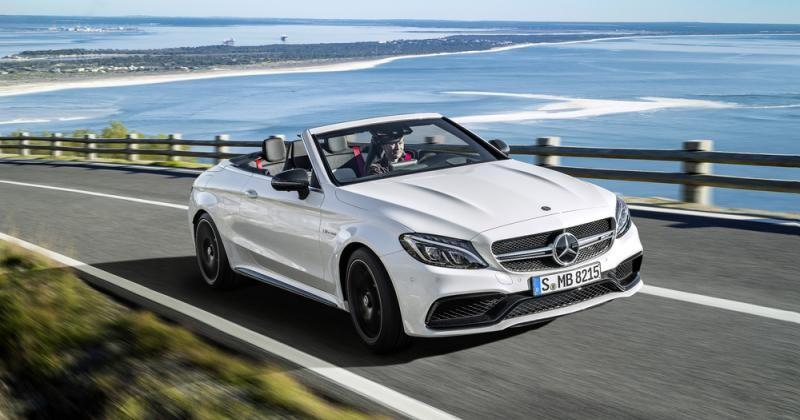 Mercedes-AMG brings the 2017 C63 Cabriolet to New York