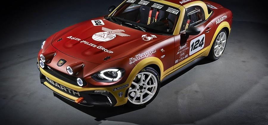 Abarth 124 spider packs 170hp and spawns rally version